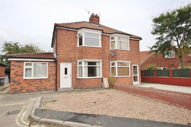 Thumbnail Semi-detached house for sale in Endfields Road, York