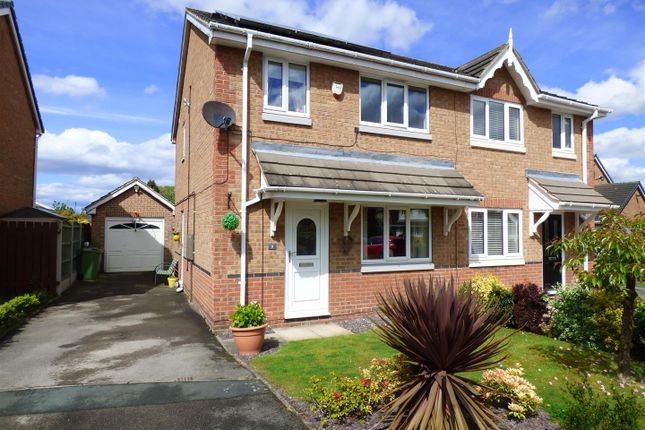 Thumbnail Semi-detached house to rent in Paddock View, Castleford, West Yorkshire