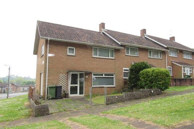 Thumbnail End terrace house to rent in Beechley Drive, Fairwater, Cardiff