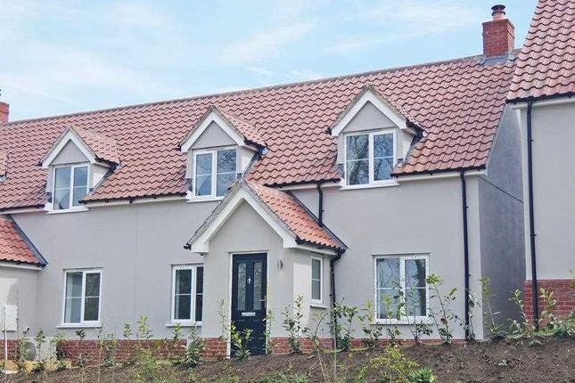 Semi-detached house for sale in Rising Sun Hill, Rattlesden, Bury St. Edmunds