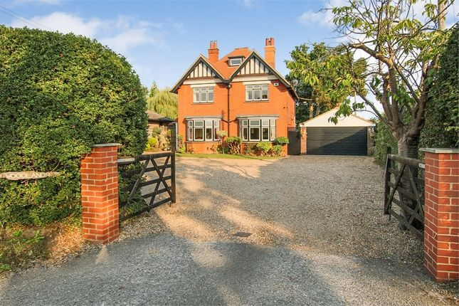 Thumbnail Detached house for sale in Vicarage Road, Crawley Down, West Sussex