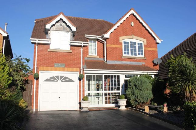 Thumbnail Detached house for sale in Aldin Way, Hinckley