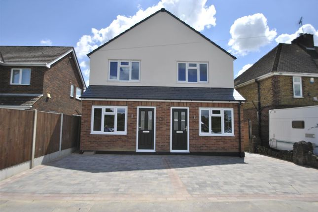Thumbnail Semi-detached house for sale in London Road, Marks Tey, Colchester
