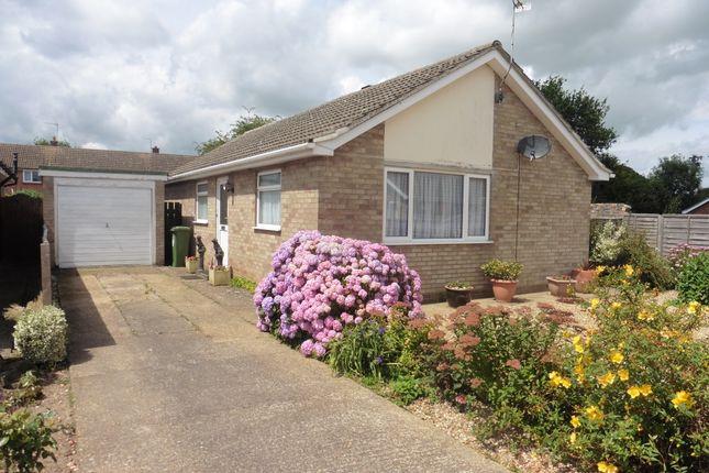 Thumbnail Detached bungalow for sale in Whitelands, Fakenham