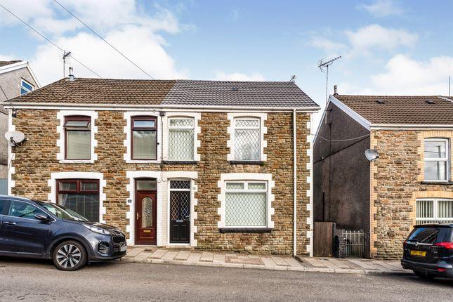 Thumbnail Semi-detached house for sale in Maiden Street, Cwmfelin, Maesteg