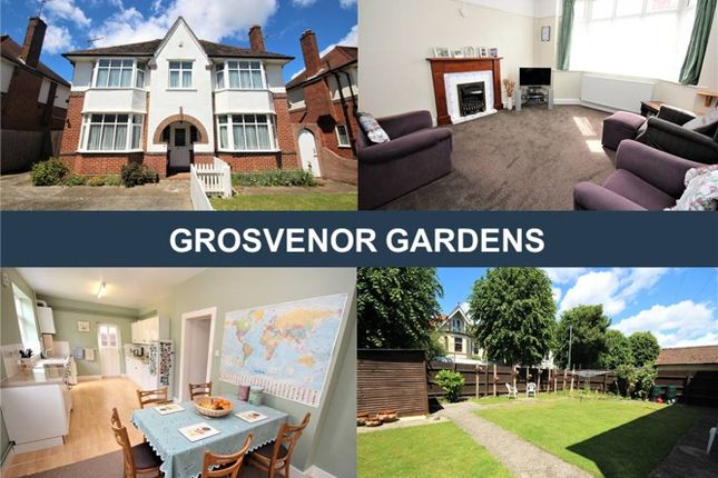 Thumbnail Detached house for sale in Grosvenor Gardens, Bournemouth, Dorset