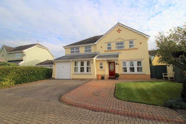 Thumbnail Detached house for sale in Lon Pinwydden, Ystradowen, Cowbridge