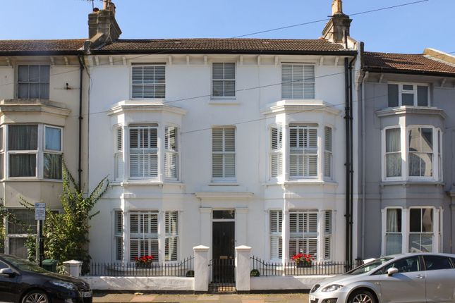 Thumbnail Terraced house for sale in Shaftesbury Road, Brighton