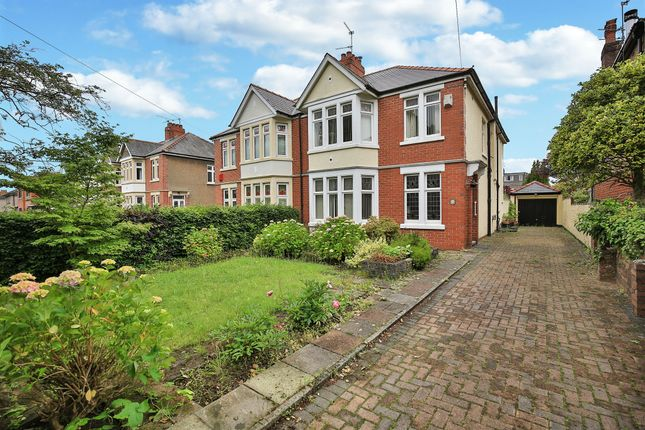 Thumbnail Semi-detached house for sale in Heathwood Road, Heath, Cardiff