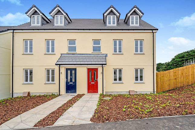 Thumbnail Semi-detached house for sale in Treskerby Woods, Redruth