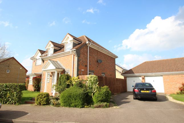 Thumbnail Detached house to rent in Battalion Drive, Wootton, Northampton