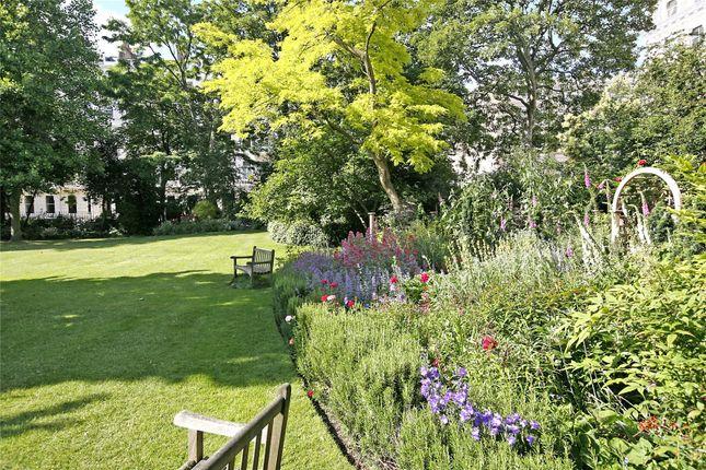 Communal Gardens of Queen's Gate Gardens, South Kensington, London SW7