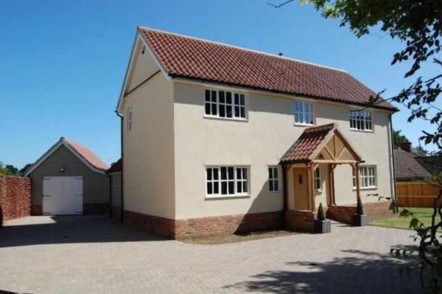 Thumbnail Semi-detached house to rent in School Lane, Ufford, Woodbridge
