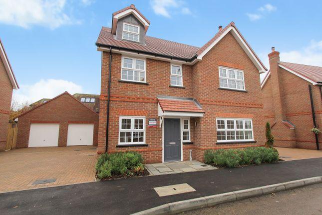 Thumbnail Detached house for sale in Newbury Lane, Silsoe, Bedfordshire