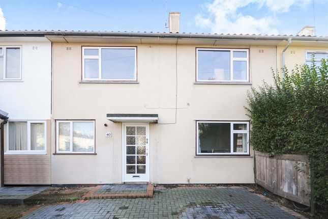 Thumbnail Terraced house for sale in Charnwood Avenue, Chelmsford