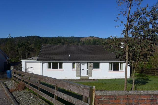 Thumbnail Detached bungalow for sale in 2 Fernoch Park, Lochgilphead