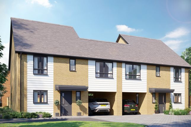 Thumbnail Link-detached house for sale in Europa Way, Ipswich