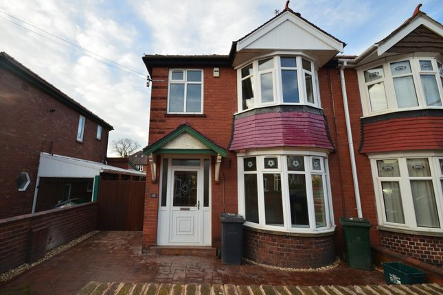 Thumbnail Semi-detached house to rent in Harewood Road, Doncaster