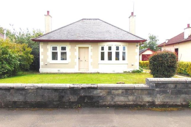 Thumbnail Detached bungalow to rent in Birkhall Avenue, Glasgow