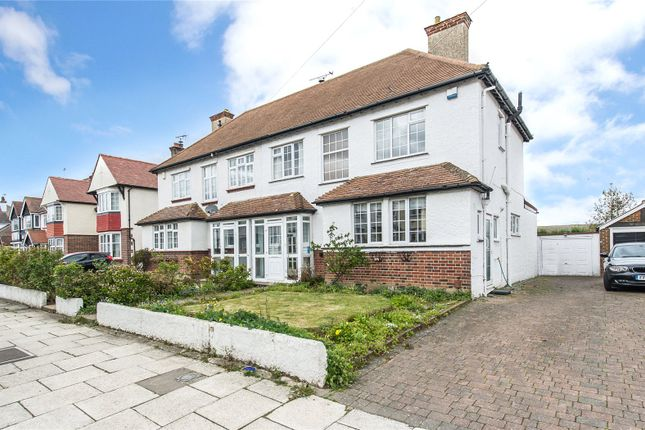 3 bed semi-detached house for sale in Ridgeway Avenue, Gravesend, Kent DA12