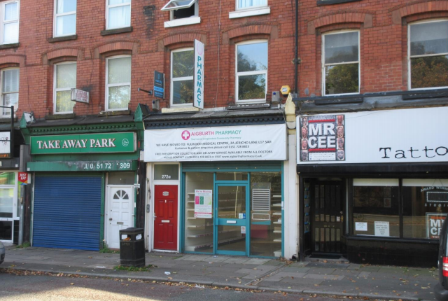Restaurant/cafe to let in 272 Aigburth Road, Liverpool