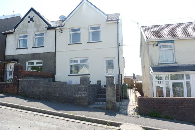 Thumbnail Semi-detached house for sale in Meadow Street, Gilfach Goch, Porth