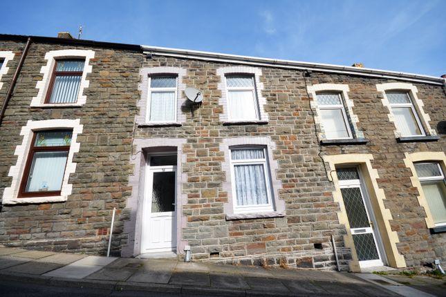 Thumbnail Terraced house for sale in Evan Street, Treharris
