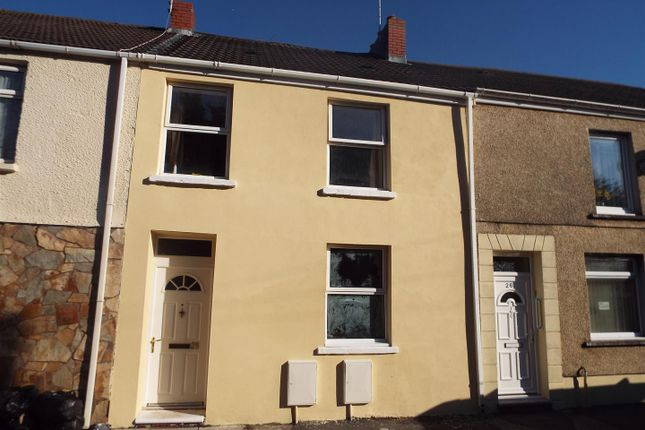 Thumbnail Terraced house for sale in New Dock Street, Llanelli
