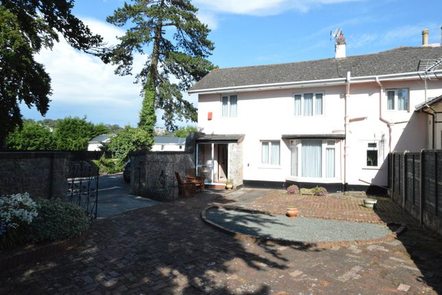 Thumbnail Cottage for sale in Daddyhole Road, Torquay