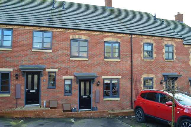 Thumbnail Terraced house to rent in Bosgate Close, Bozeat