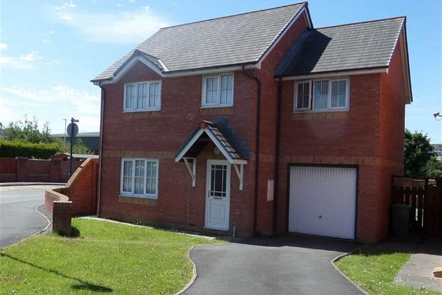 Thumbnail Detached house for sale in Maes Mawr, Aberystwyth, Ceredigion