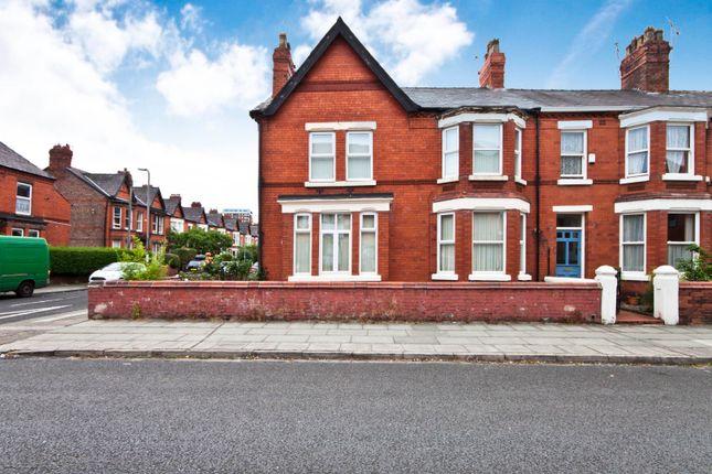 Thumbnail End terrace house to rent in Buckingham Avenue, Aigburth