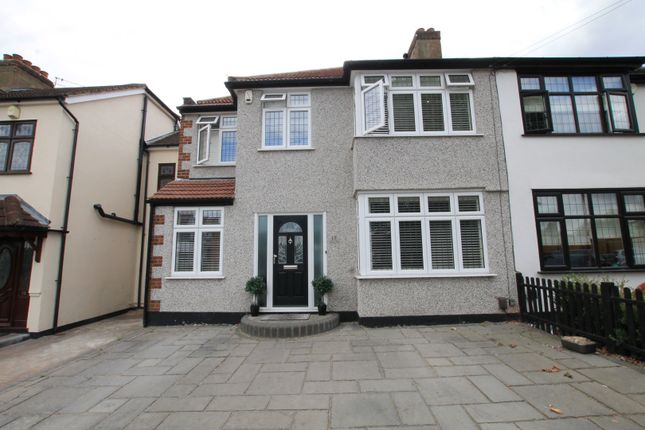 Thumbnail Semi-detached house for sale in Granton Avenue, Upminster