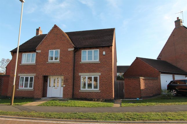Thumbnail Detached house to rent in Lady Hay Road, Leicester