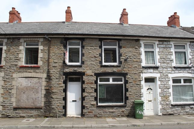 Thumbnail Terraced house for sale in 40 Park Street, Mountain Ash, Rhondda Cynon Taff