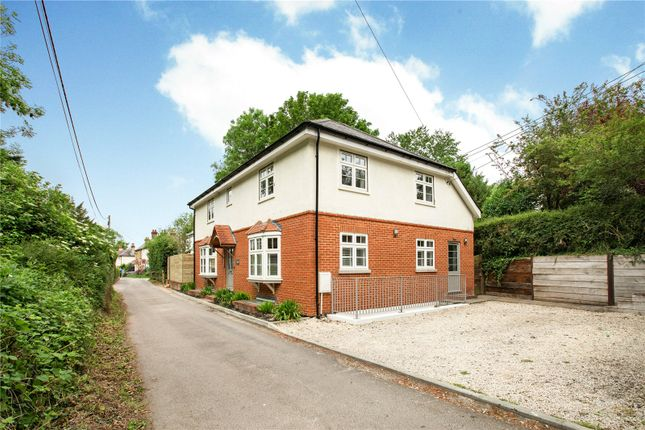 Thumbnail Detached house for sale in Mount Pleasant, Kings Worthy, Winchester, Hampshire