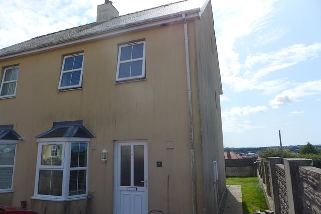 Thumbnail Semi-detached house for sale in Victoria Court, Neyland, Milford Haven