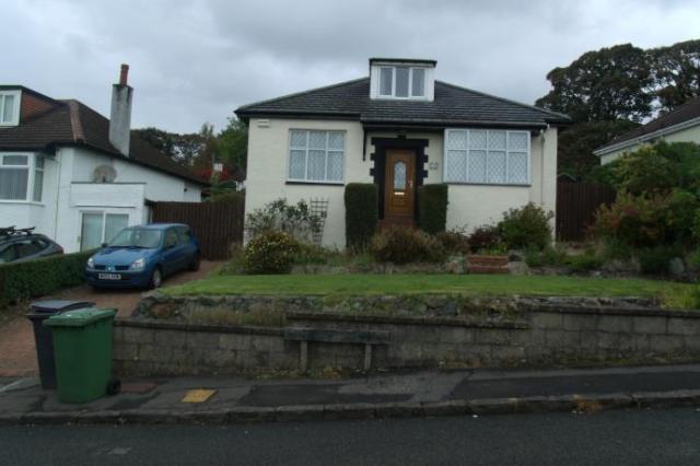 Thumbnail Bungalow to rent in Killermont Road, Bearsden