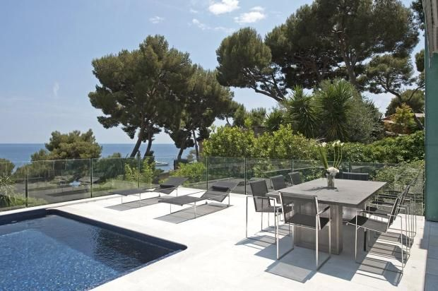Poolside Terrace of Eze Sur Mer, French Riviera, 06360