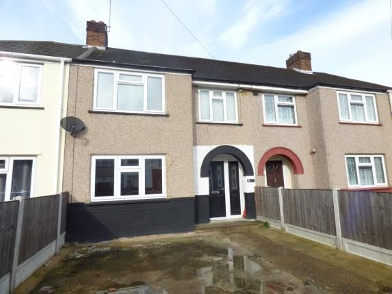 3 bed terraced house for sale in Carnforth Gardens, Hornchurch