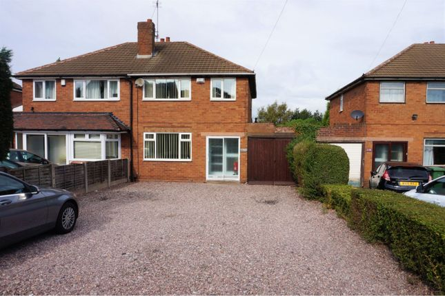 Thumbnail Semi-detached house for sale in Lichfield Road, Walsall