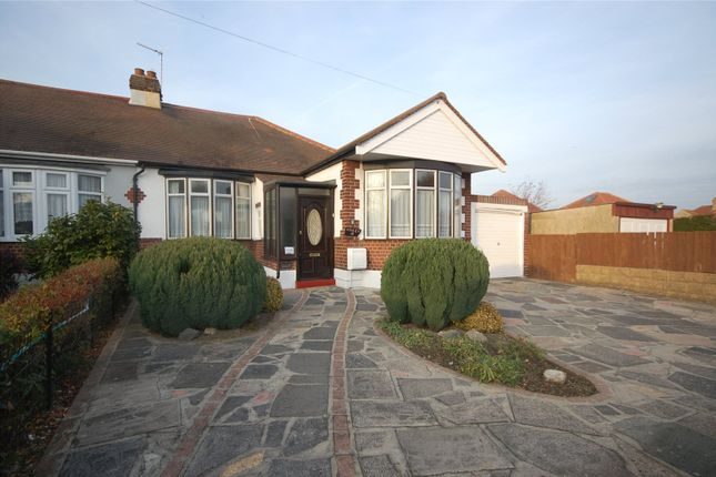 Thumbnail Semi-detached bungalow for sale in Upland Court Road, Harold Wood, Essex