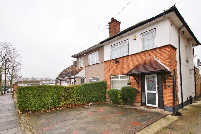 Thumbnail Semi-detached bungalow to rent in Bryant Road, Northolt
