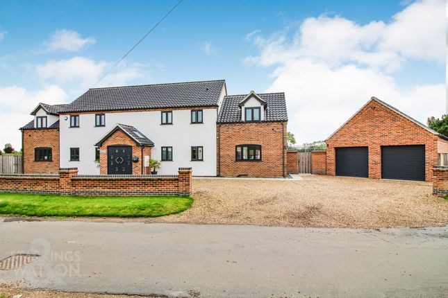 Thumbnail Detached house for sale in Kings Dam, Gillingham, Beccles