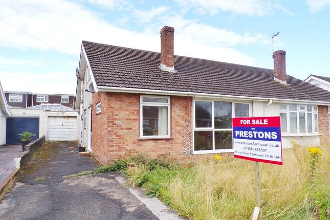 3 bed semi-detached bungalow for sale in Glynstell Road, Nottage, Porthcawl CF36