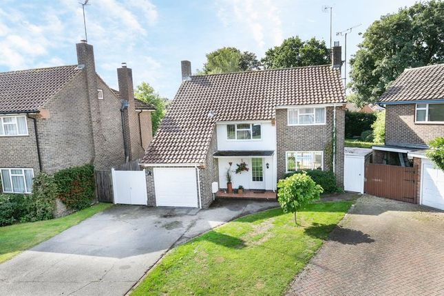 Thumbnail Detached house for sale in Orde Close, Pound Hill, Crawley, West Sussex