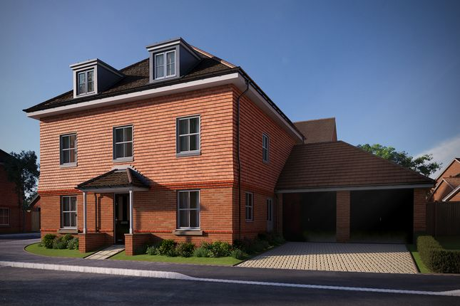 "Thumbnail Detached house for sale in ""The Chestnut"" at Brimblecombe Close, Wokingham"