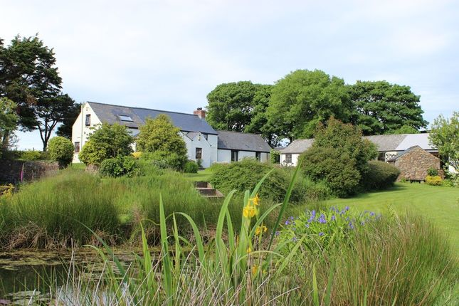 Thumbnail Farmhouse for sale in Hayscastle, Haverfordwest