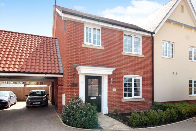 3 bed semi-detached house for sale in Jermyn Way, Tharston, Norwich, Norfolk NR15