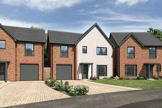 Thumbnail Detached house for sale in Off Caerleon Road, Dinas Powys